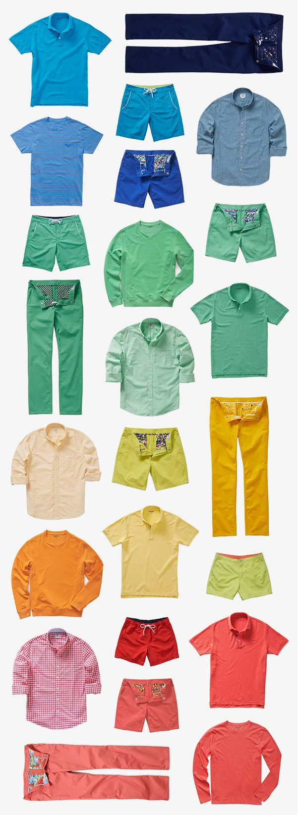 My husband looks great in bright colors! Goodbye cold, hello bold. It's time for spring colors. | Bonobos