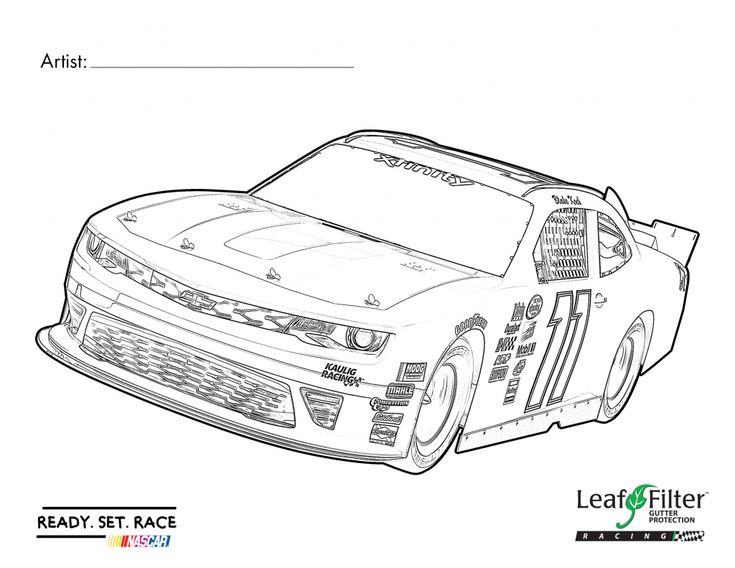 is your child a fan of nascar or fast cars in general print out this coloring page and let them go wild with their imagination for a chance to win a - Nascar Coloring Pages