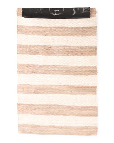 Chindi Striped Scatter Rug - Accent Rugs - T.J.Maxx