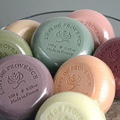 L'épi de Provence soap (LAVENDER FLOWER, VERBENA FLOWER, GRAPEFRUIT, LYCHEE ROSE, OCEAN & SEAWEED)