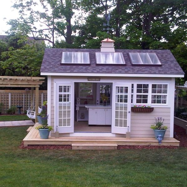Outside Kitchen Shed Whatever Love This It Is Nice It
