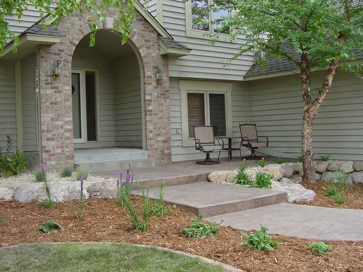 home decor front yard landscaping walkway residential landscape