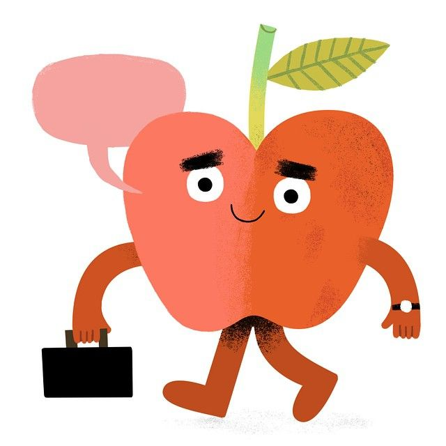 Loving this teaching thing!!! (Guess this is me...sans beard + I'm an apple?)