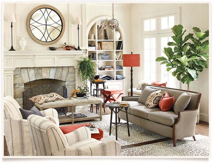Laraine living room by ballard design
