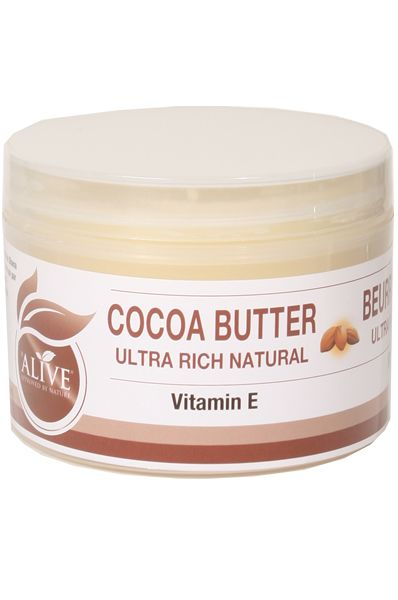 AOneBeauty.com - Be Alive Ultra Rich Natural Cocoa Butter (8oz), $9.49 (http://www.aonebeauty.com/be-alive-ultra-rich-natural-cocoa-butter-8oz/)