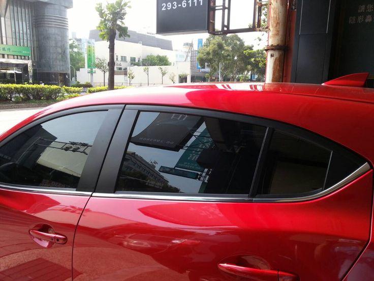 臺南順興SUPERLEX菁英隔熱紙GE33+GE11 20150720 | Car door. Car