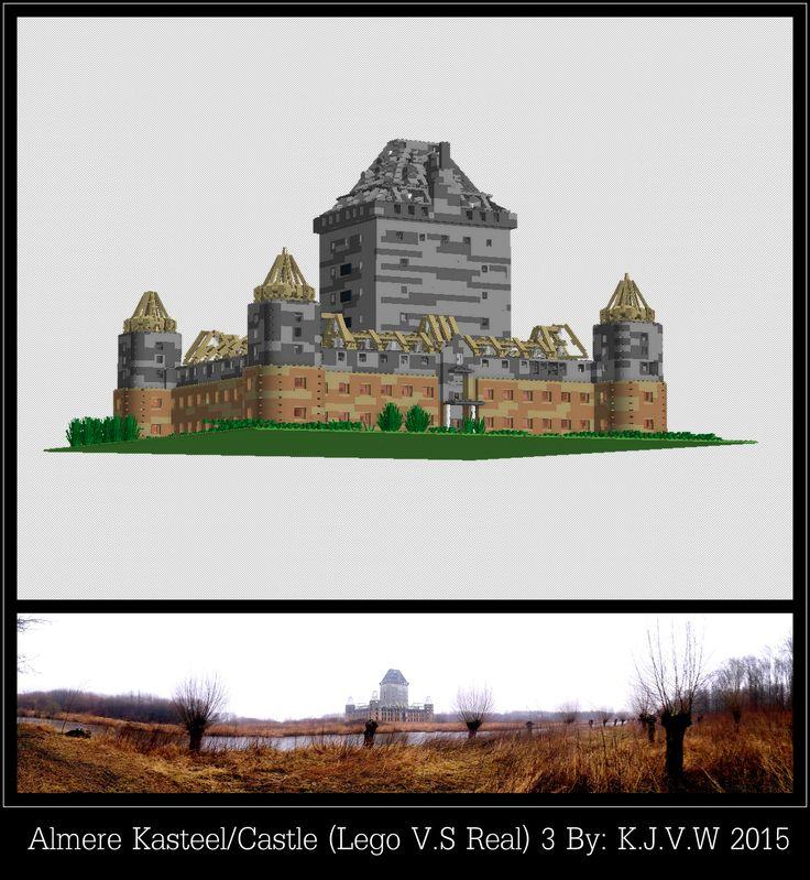 https://flic.kr/p/xuZpho | Kasteel Almere (Lego V.S Real) 3 | Part 3