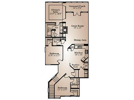 1000 ideas about condo floor plans on pinterest for Ehouseplans com
