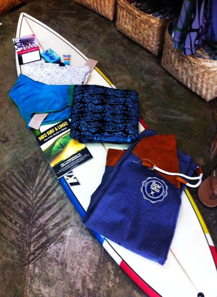 items you need for a good surfing day | all available @ nusa store