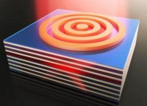 Researchers have successfully demonstrated how to both enhance light emission and capture light from metamaterials embedded with light emitting nanocrystals. The breakthrough could lead to a range of applications including ultrafast LEDs, nanoscale lasers and efficient single photon sources.