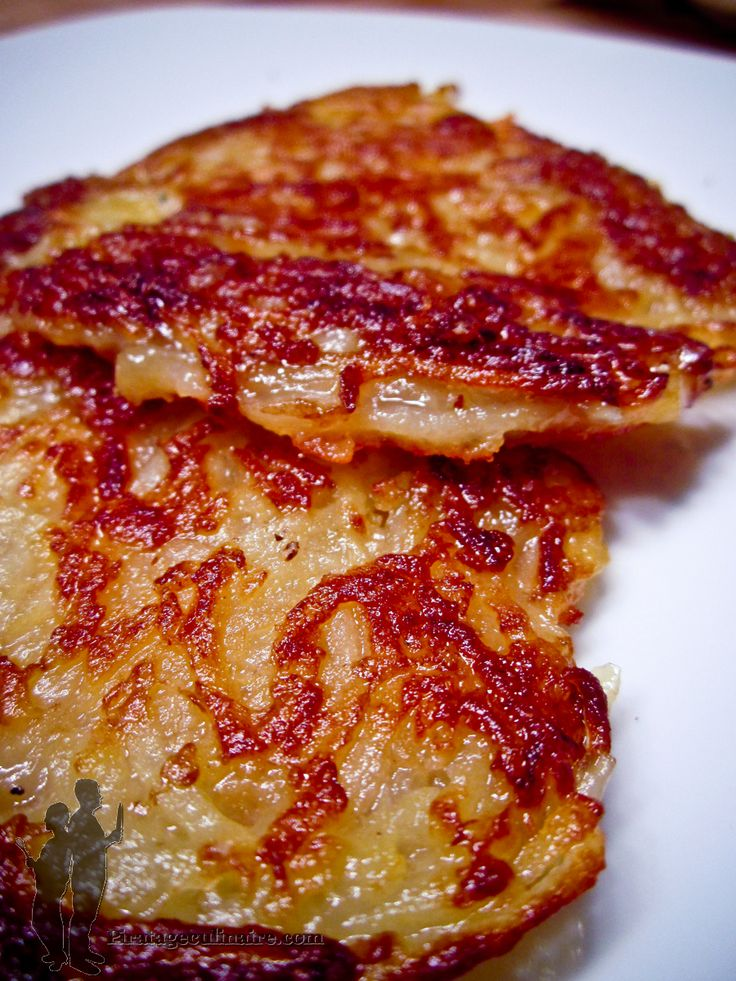 Piratage Culinaire: Rostis de pommes de terre