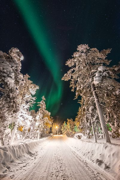 The Road Less Traveled, Finland by photographer Jeff Bartlett