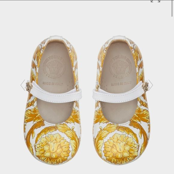 New Young Versace Baby Girl shoes Brand