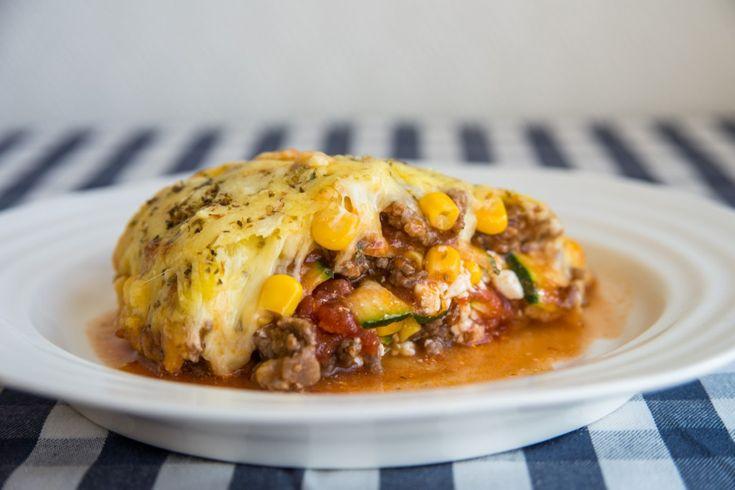 Healthy Zucchini Lasagne