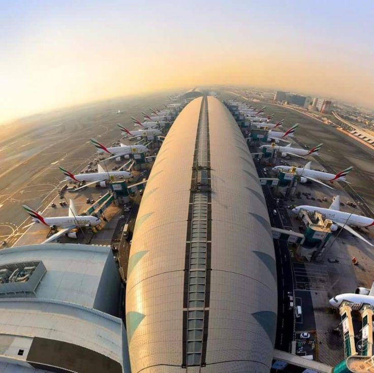 La enorme flota de Emirates desde Dubai ✈