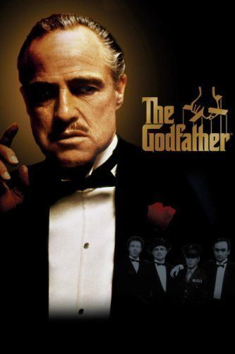 The Godfather -- Francis Ford Coppola's epic masterpiece features Marlon Brando in his Oscar-winning role as the patriarch of the Corleone family.