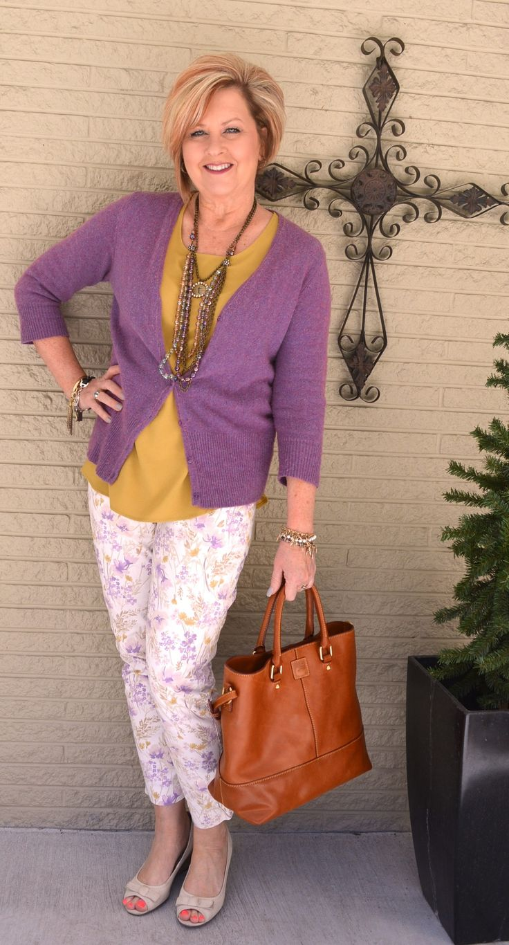 A mix of trendy, vintage and classic – A style interview with Tania | 40plusstyle.com
