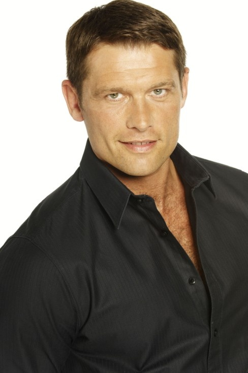 John Partridge - Born: 24 July 1971 (age 41)  Radcliffe, Lancashire, England -Residence: London - Nationality: British - Partner(s): Jon Tsouras http://en.wikipedia.org/wiki/John_Partridge_(actor)
