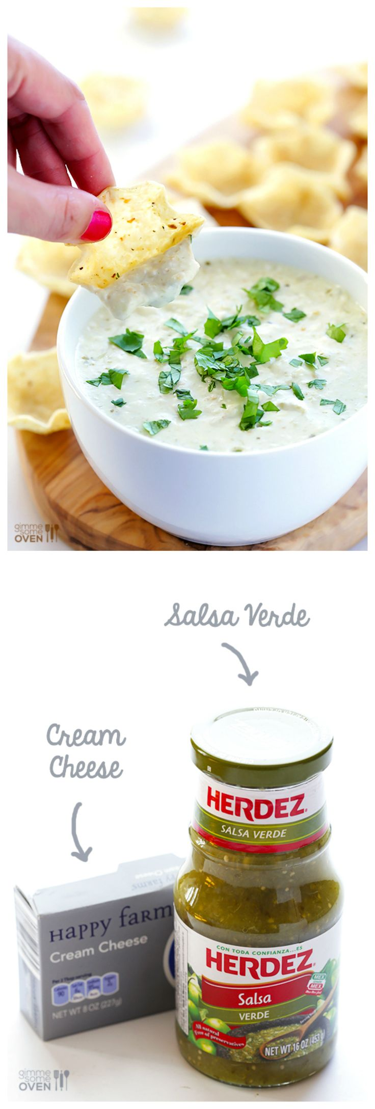 2 Ingredient Queso Dip -- ready to go in 5 minutes! | gimmesomeoven.com