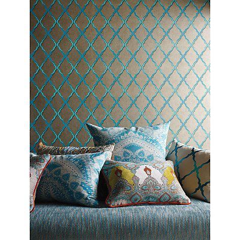 Buy Osborne & Little Matthew Williamson Jali Trellis Paste the Wall Wallpaper Online at johnlewis.com