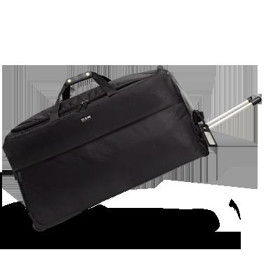 BAGAGLIO FLESSIBILE Il borsone morbido e capiente, per affrontare ogni viaggio sicuri di non aver dimenticato le cose essenziali: lo spazzolino, il passaporto e lo stile.