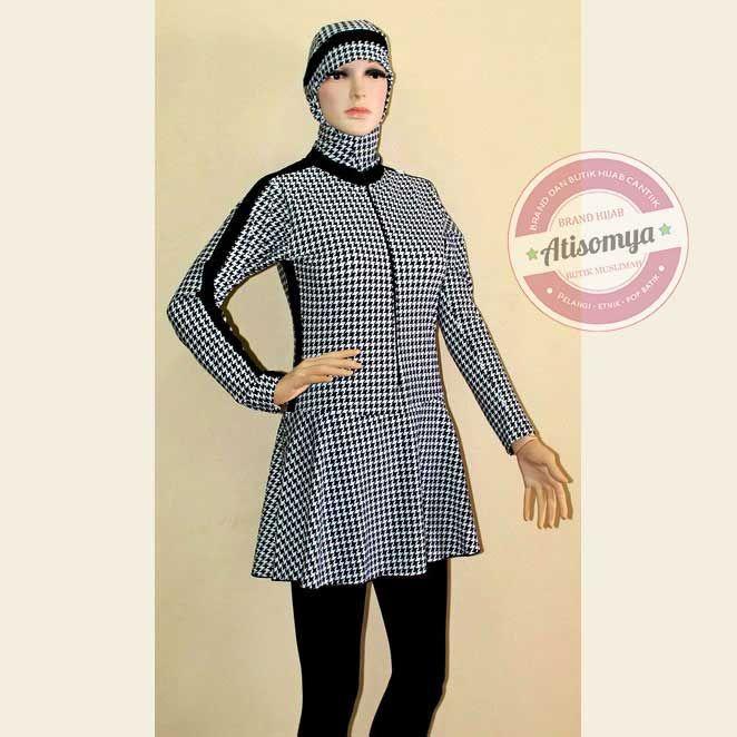 Baju Muslim Big Size Gamis Batik G4