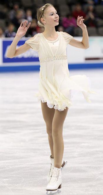 Polina Edmunds 2013 || I ADORE THIS DRESS OMG