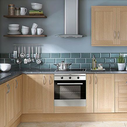 20 best oak effect images on pinterest kitchen ideas for Wickes kitchen cabinets