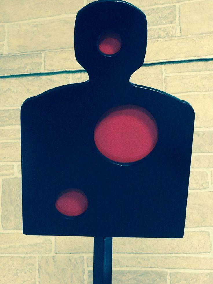 Metal target for shooting