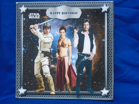 Star Wars Rebels Kit 6 on Craftsuprint created by Susan Smith - Printed this design onto photo paper and cut out all the elements, I placed the design base onto the front of my card, then made up the design using 2mm sticky pads