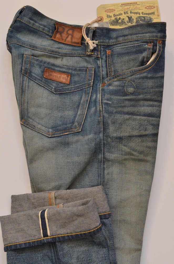 Nwt 490 Ralph Lauren Double Rl Rrl Mens Distressed Denim Jeans Limited Edition Ralphlauren Classicstraightl Mens Jeans Latest Clothes For Men Vintage Jeans