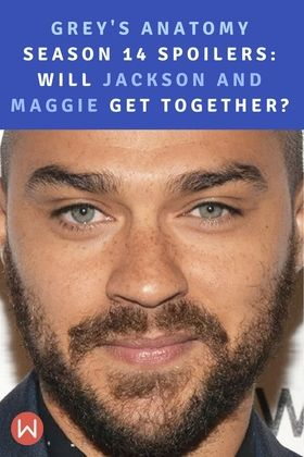 As much as we love Jackson Avery (Jesse Williams) and Maggie Pierce (Kelly McCreary) as individuals, we aren't so sure how we feel about them as a couple. After that incredibly awkward scene in the Grey's Anatomy Season 13 finale, we were suddenly asking whether Jackson and Maggie would get together in Grey's Anatomy Season 14. Now that we're closer to the premiere, there is a ton of evidence that #Jaggie will become a real couple in Greys Anatomy Season 14. Shonda Rhimes.