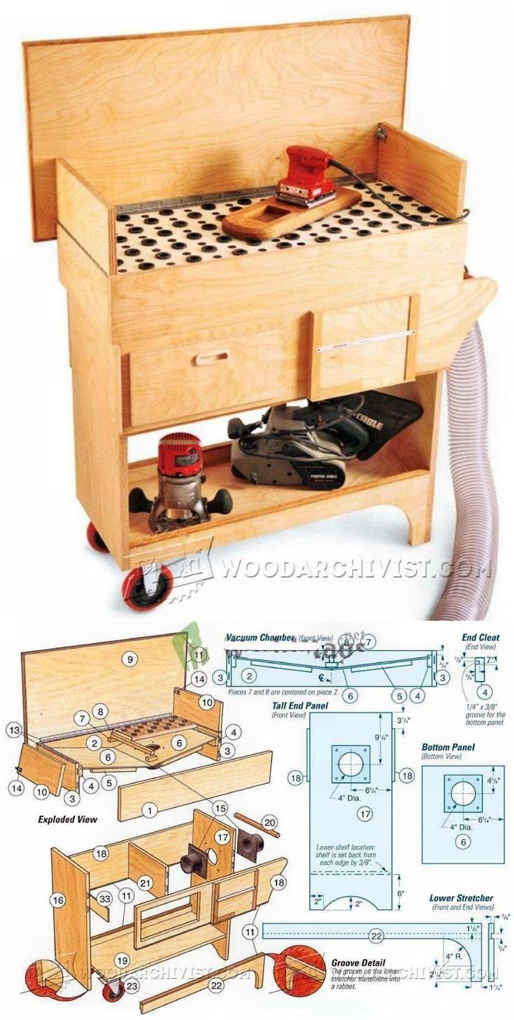 DIY Downdraft Table - Sanding Tips, Jigs and Techniques | WoodArchivist.com
