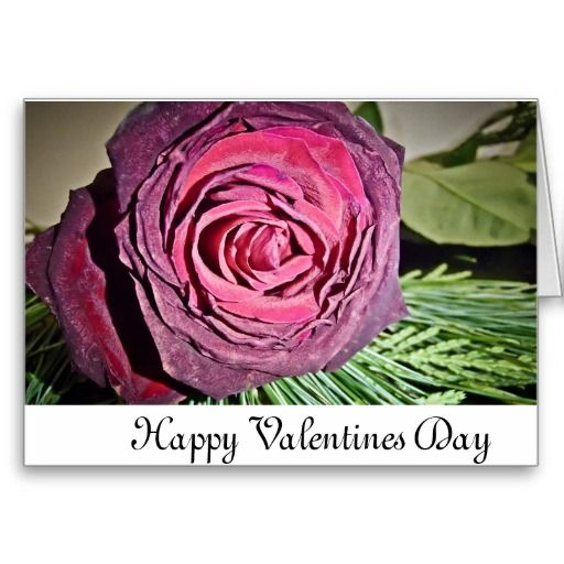 "Custom ""Happy Valentines Day Card"""