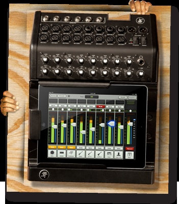 OK...maybe it's time to finally get an iPad!!  Mackie DL1608 Digital Live Sound Mixer