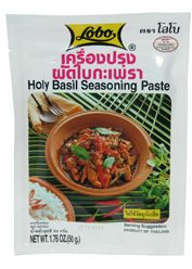 Lobo Thai Holy Basil Paste 50g  Description: Lobo Thai Holy Basil Paste 50g  Price: 0.75  Meer informatie  #AmazingOriental #food