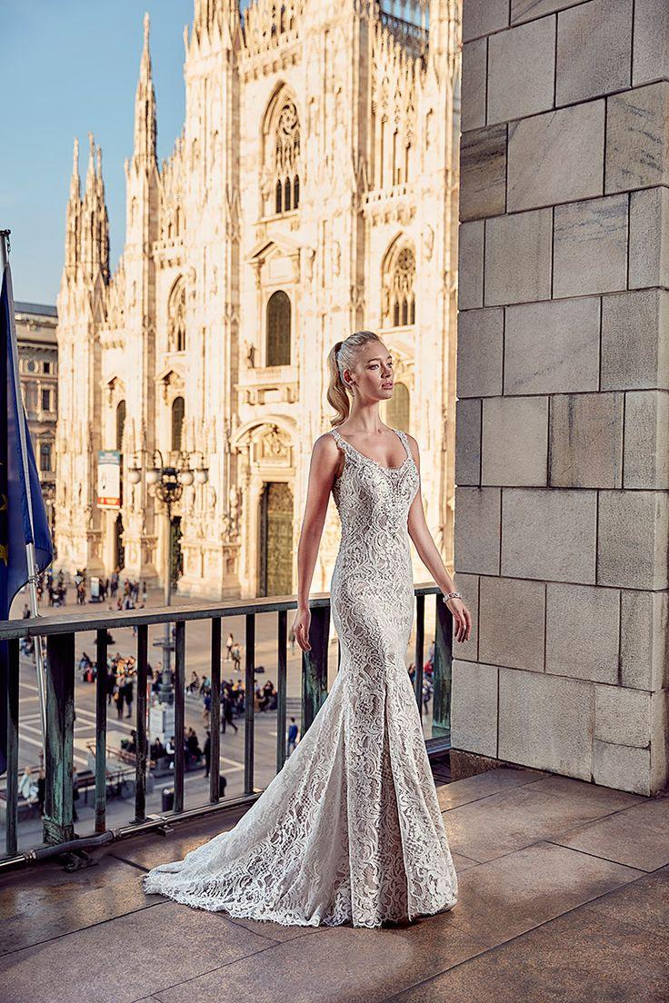 26 best Eddy K images on Pinterest | Wedding gowns, Short wedding ...
