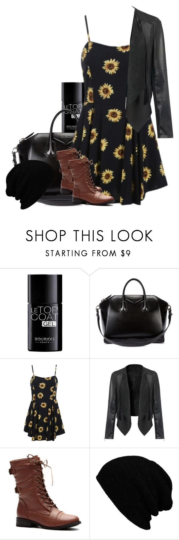 """Aria Montgomery inspired outfit"" by xzozebo ❤ liked on Polyvore featuring Bourjois, Givenchy and KBETHOS"