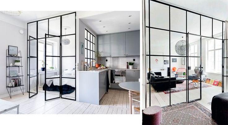 Ideas para reformar tu piso: divide los espacios con cristaleras y cerramientos