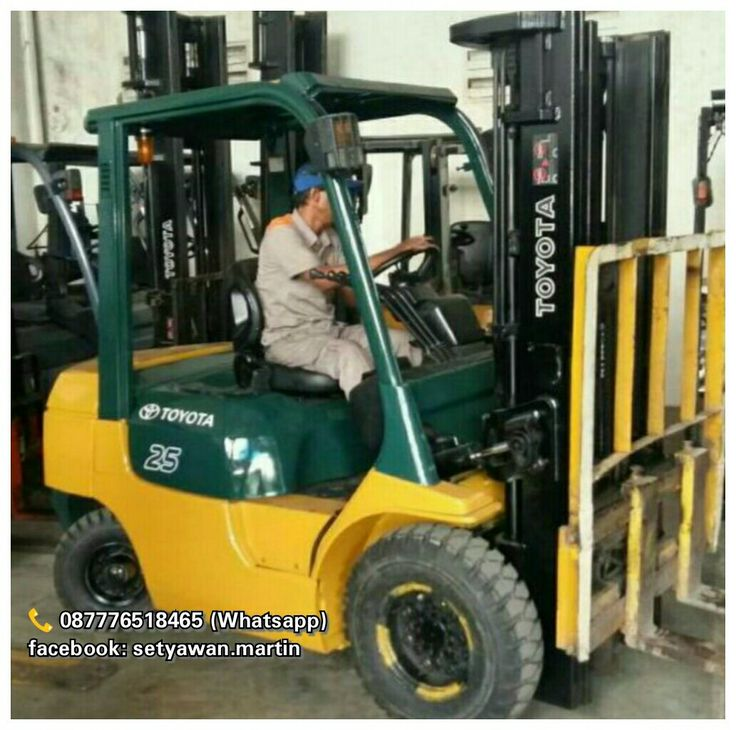 [ FOR SALE ] Forklift Toyota 2.5 Ton, Automatic,  Lifting Height 4.7M, Side Shifter, Diesel Engine Toyota 1DZII, 087776518465 (Whatsapp)