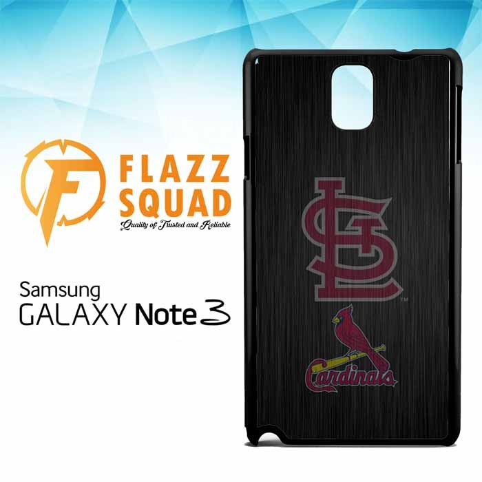 St. Louis Cardinals logo wood Z4064 Samsung Galaxy Note 3 Case