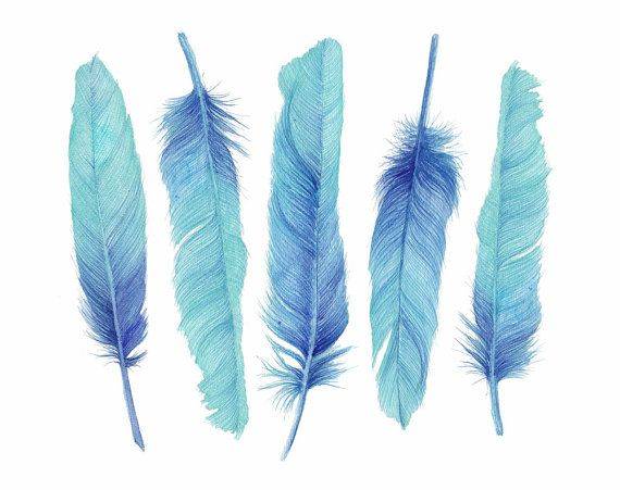 Five Turquoise Feathers is an Artwork with every detail exquisitely rendered in heavenly Turquoise Watercolour. Feathers are timeless symbols of freedom, beauty and ideas. Whatever a feather symbolizes, a feather is never just a feather! Each Archival Print is created from start to finish by the Artist herself to ensure a gorgeous print indistinguishable from the original painting, an affordable Quality Artwork that will be the envy of all your friends. Available in a choice of two sizes…