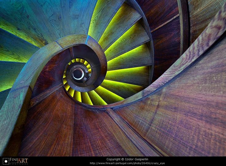 #stairs      Crazy eye © Izidor Gasperlin