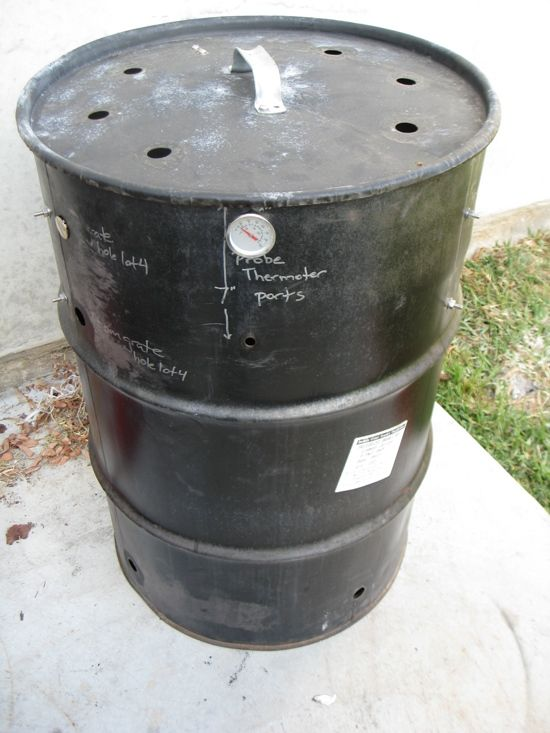 how to cut the lid off 55 gallon drum