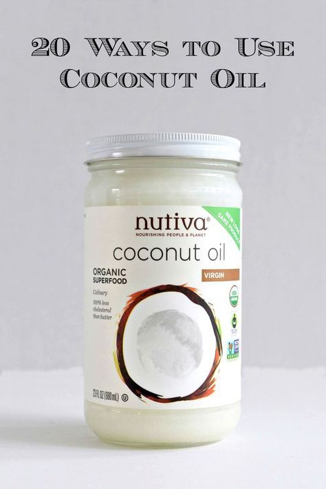 20 Ways To Use Coconut Oil - http://www.sofabfood.com/20-ways-to-use-coconut-oil/ Learn the top 20 ways to incorporate Coconut Oil, aSuperfood that has many amazing health benefits, into your cooking and daily beauty regimen. Onceyou start adding Coconu