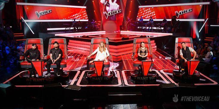 The Voice Australia 2015 Joel & Benji Madden - Delta Goodrem - Jessie J - Ricky