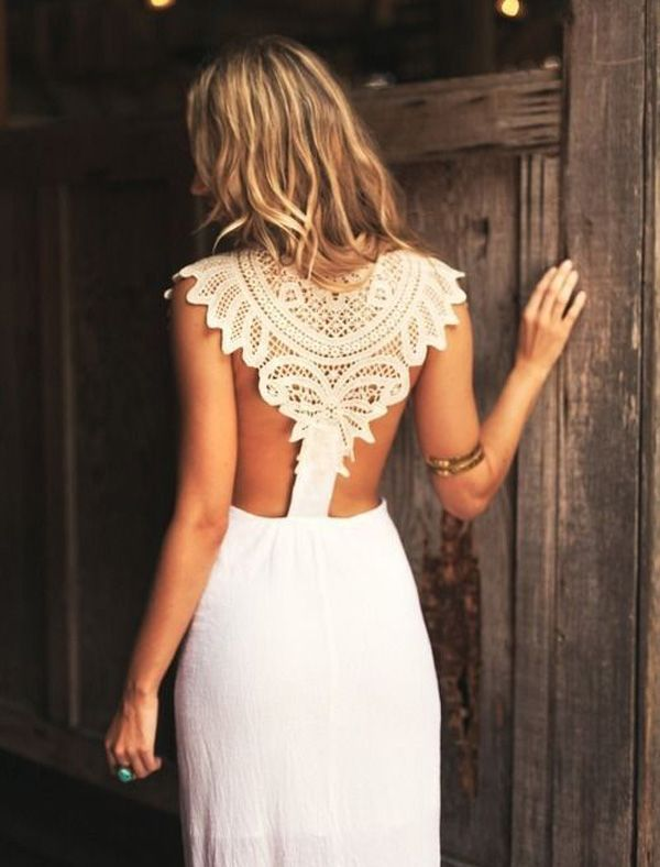 The best bridal style of 2013: wedding dresses with unique backs and daring details - Wedding Party