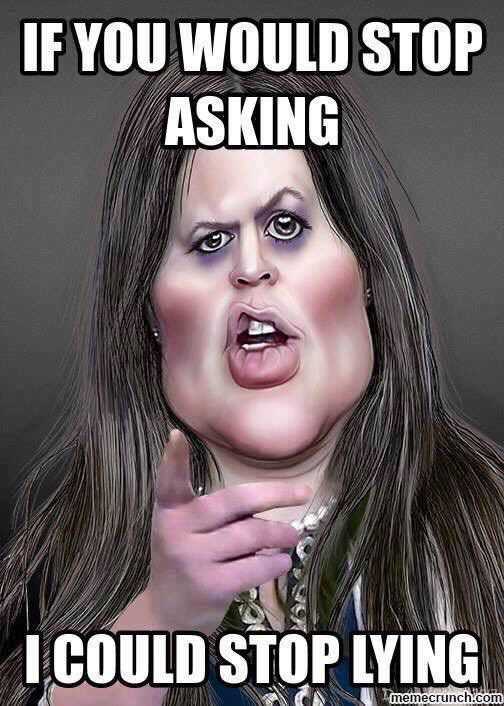 Up until recently I believed her to be well spoken, dodging the questions artfully.   Yet Ms.Sanders doesn't realize that this bad association leads to disaster and eats away at your soul.
