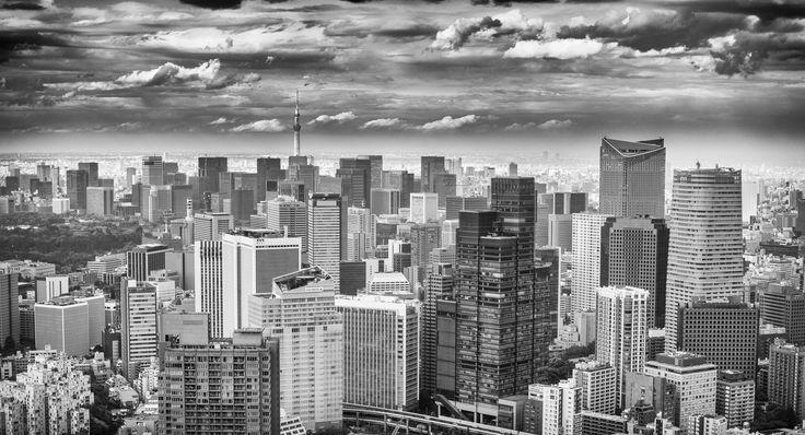 Tokyo Skyline by Rosen Velinov on 500px