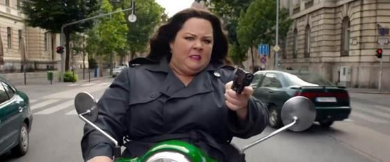 Melissa McCarthy filming 'Spy' movie in Budapest